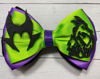 Maleficent Inspired Deluxe Bow