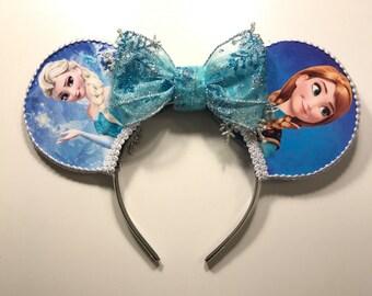 Frozen Inspired Mouse Ears