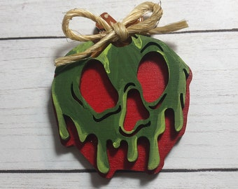 Poison Apple Inspired Brooch