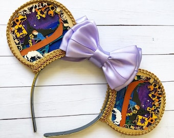 Rapunzel Shadow Box Inspired Mouse Ears