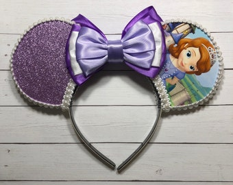 Sofia the First Inspired Mouse Ears