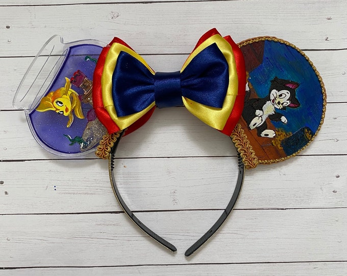 Pinocchio Inspired Mouse Ears