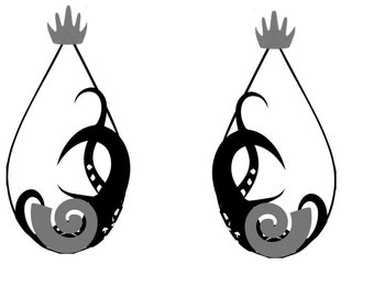 Ursula Inspired Earrings