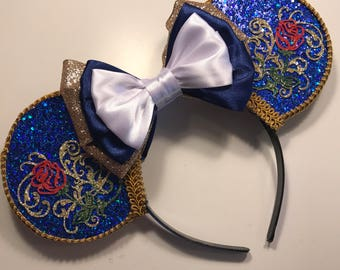 Beast Inspired Mouse Ears