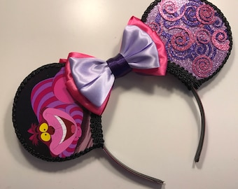 Cheshire Cat Inspired Mouse Ears