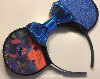 Stitch Inspired Mouse Ears