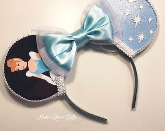 Cinderella Inspired Mouse Ears