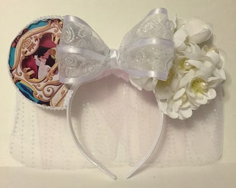Bridal Cinderella Inspired Mouse Ears