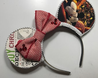Christmas Inspired Mouse Ears