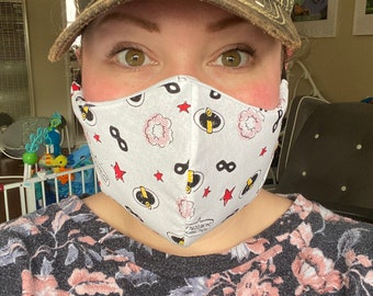 Face Mask - Hand Sewn, Non Medical Grade, Washable, Reusable - PREORDER