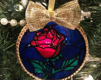 Enchanted Rose Ornament