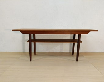 Merveilleux Vintage Danish Modern Teak Coffee Table   525 OBO   Free NYC Delivery!