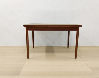 Vintage Danish Modern Teak Dining Table   Free NYC Delivery!