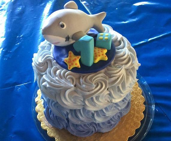 Ocean Beach Hawaii Theme Baby Boy 1st Birthday Blue Color Etsy