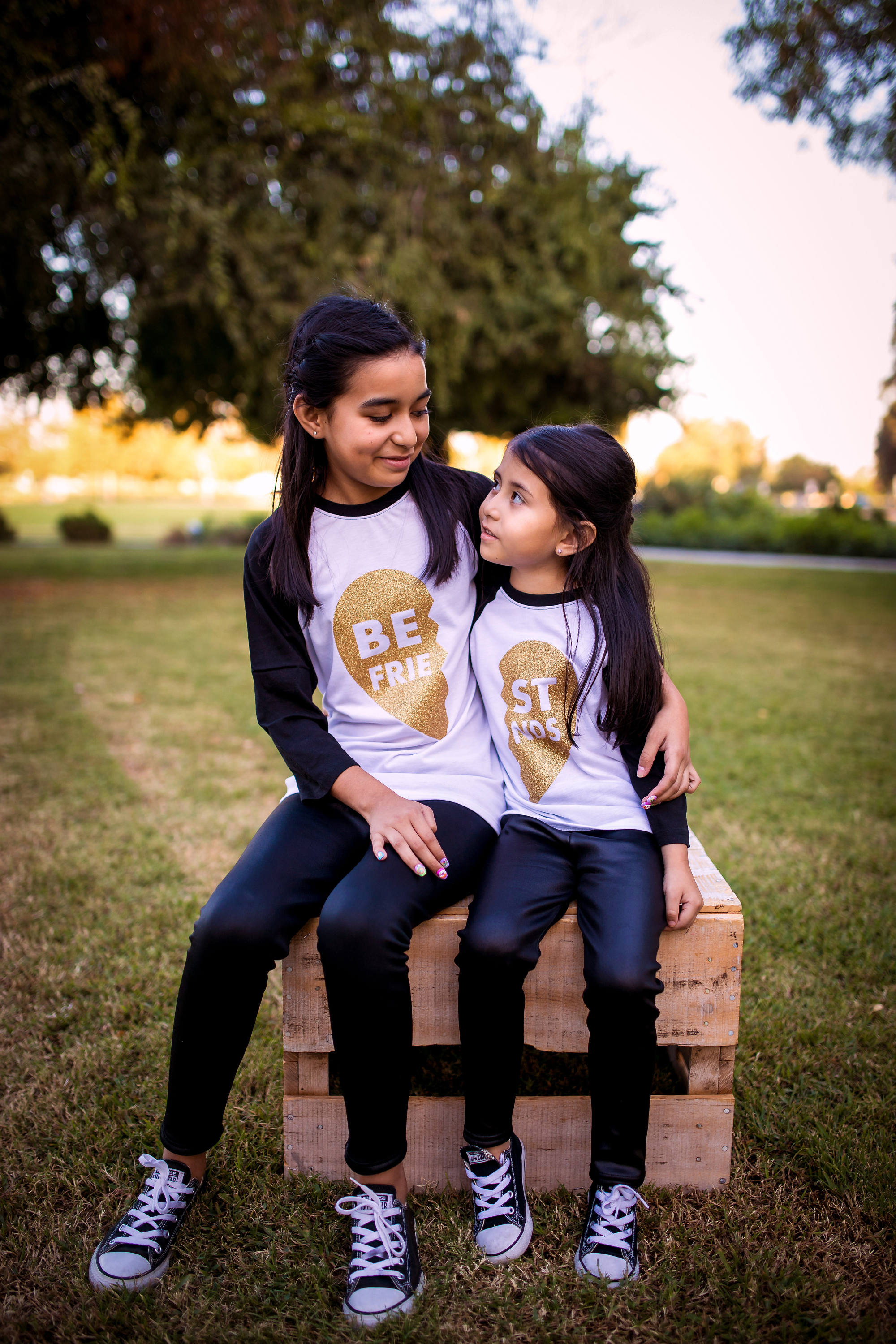 754e82f0 Best Friends Kids Shirts, Glitter Heart Best Friends Shirt, Mommy and ...