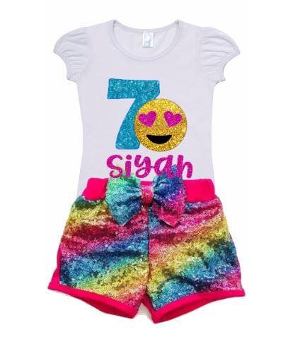Emoji Birthday Shirt Outfit