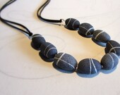 Nature necklace Beach sto...