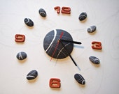 Modern wall clock large M...