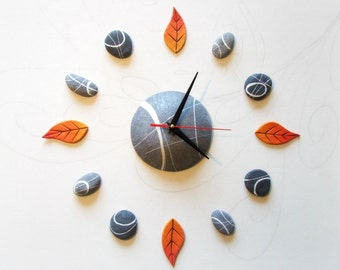 Large wall clock oversized home decor, Unusual wall clocks, Large modern wall decor for living room, Giant clock, Gift ideas for home