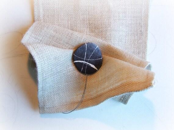 Calamite per tende con pietre coppia raccogli tenda moderni etsy