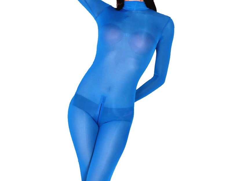 58e57f5ef15 LinvMe Women s Sexy See Through Second Skin Bodysuit