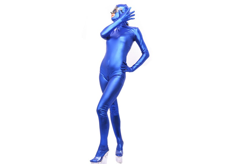 6a546e1283f LinvMe Women s Sexy Tights Full Bodysuit Cosplay Zentai
