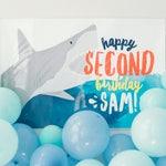 Backdrop - Shark Party