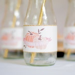 Printable Water Bottle Labels - Our Little Pumpkin Birthday Party