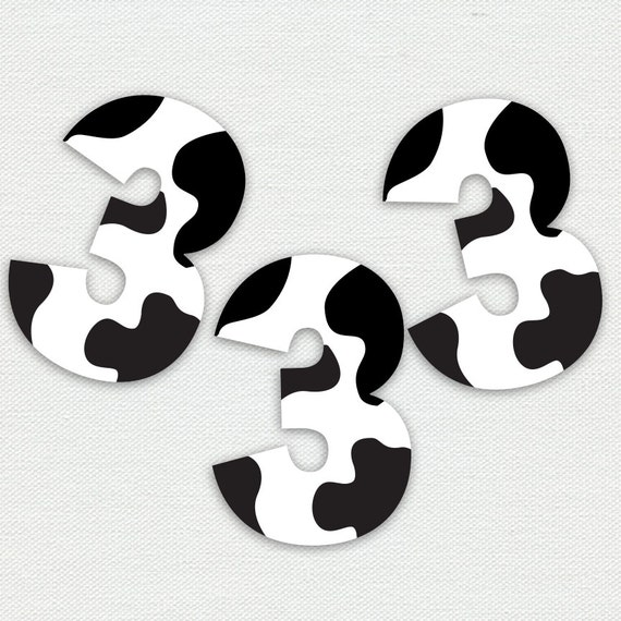 picture about Printable Cow Pattern referred to as Printable Cupcake Toppers - Cow Print - Range a few - Farm