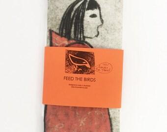 Feed the Birds Tea Towel