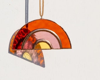 Brewer & Marr Stained Glass Mini Rainbow