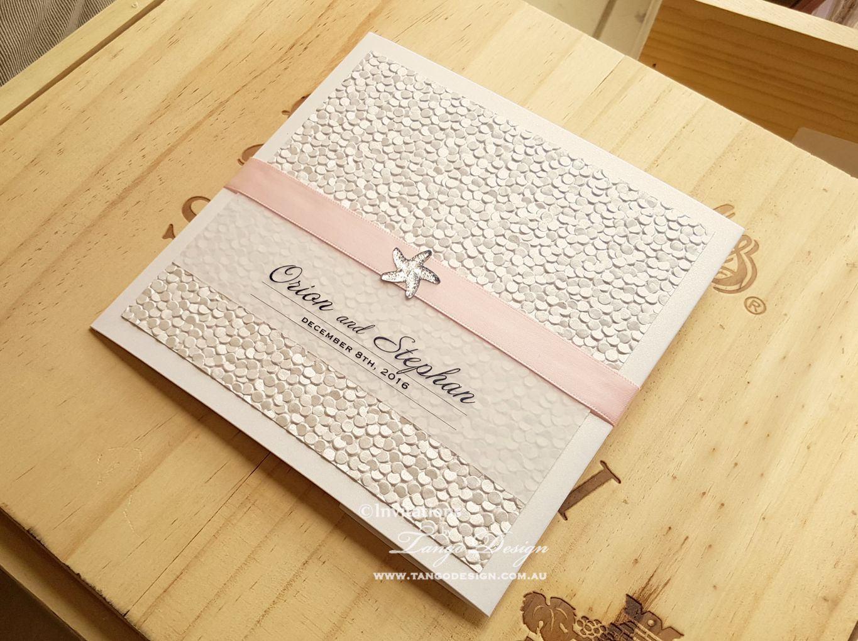 Destination Wedding Invitations Etsy: Wedding Invitations BEACH Pocketfolds. Destination Wedding