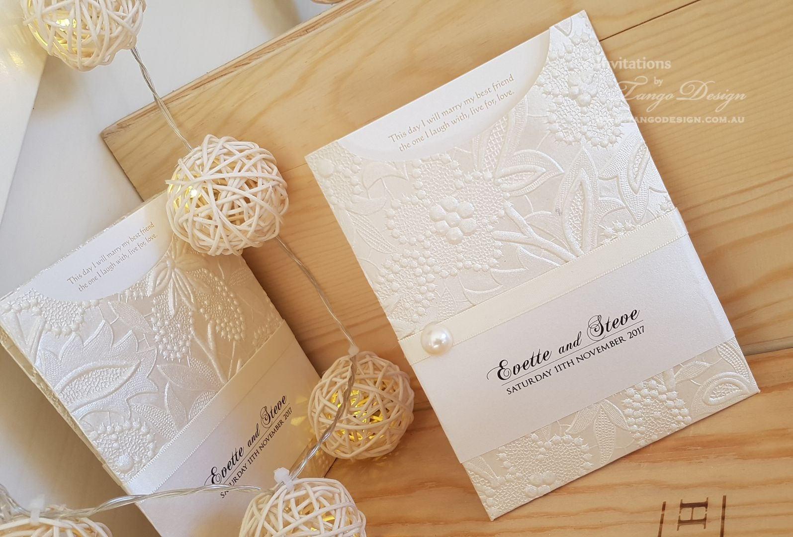 Spring Wedding Invitations Romantic Invitation Cute Etsy
