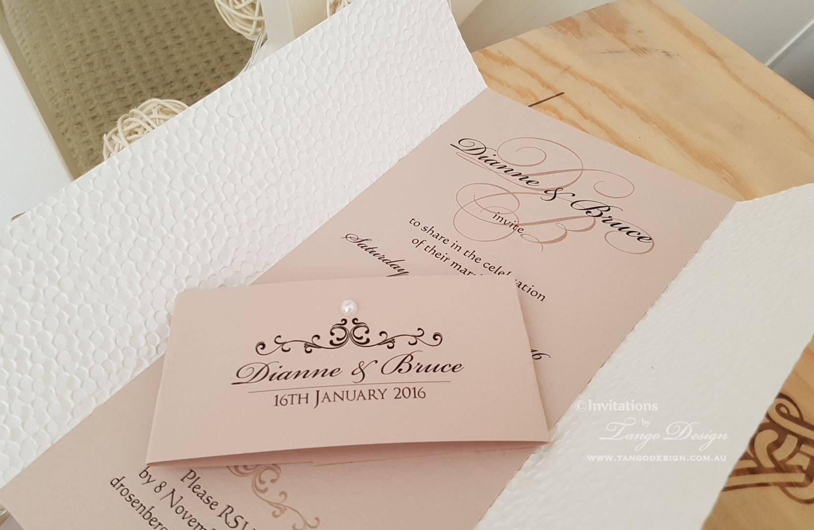 Contemporary Wedding Gifts: Modern WEDDING Invitation. Wedding Stationery. Custom