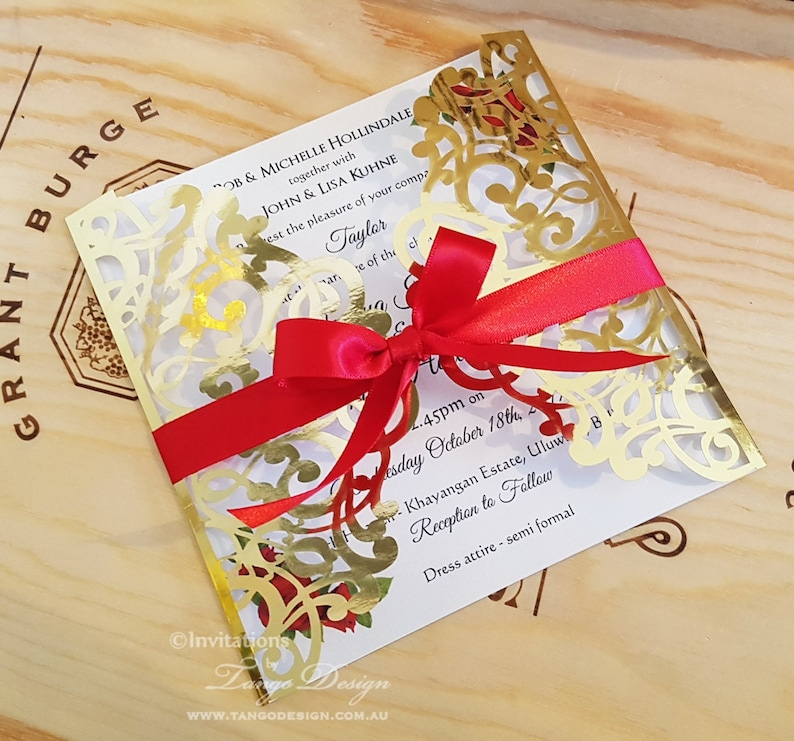 4265215e55ed Christmas wedding invitations Christian marriage laser cut