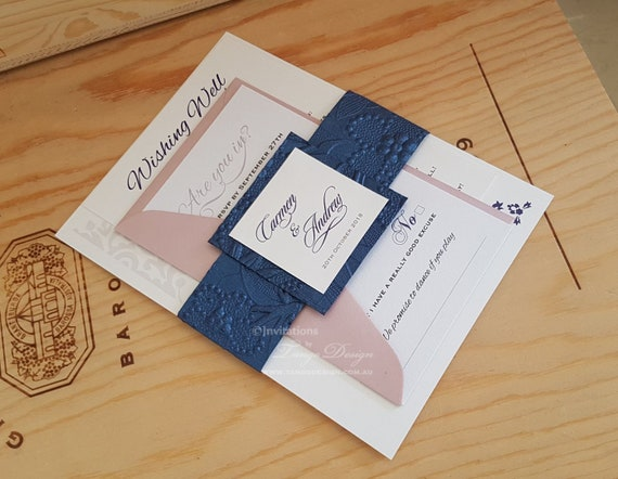 Buy Wedding Invitation Kits: 2019 Wedding Trends. BEST Invitation Kit With 3 Cards In A
