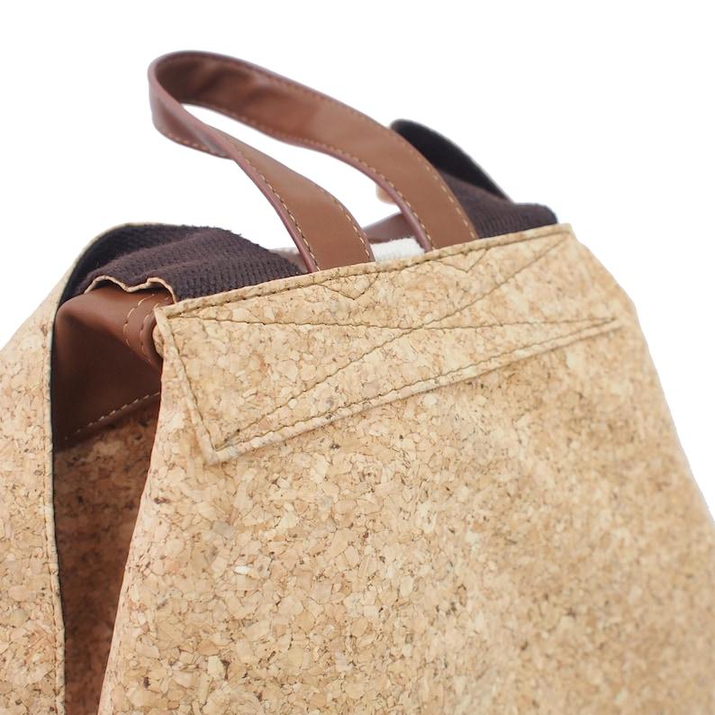 RISY Handmade Women Bucket Backpack  Daypack  Laptop Backpack  School Backpack  Traveling Unisex Bag