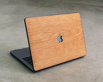 new product 78eb9 f6c8d Wood macbook case | Etsy