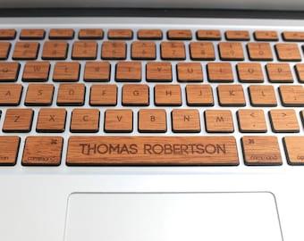 Macbook Custom Keyboard Skin Decal with Custom Spacebar MacBook Air 11 13 Pro 13 15 Retina 13 15 iMac Wireless Magic Keyboard