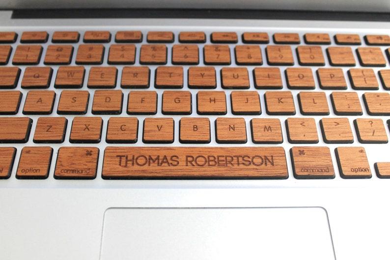 huge selection of 393f4 41d1e Macbook Custom Keyboard Skin Decal with Custom Spacebar MacBook Air 11 13  Pro 13 15 Retina 13 15 iMac Wireless Magic Keyboard