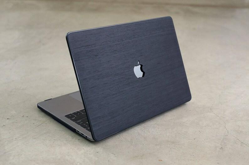 339320c4f918 Wood MacBook Case Black Ash Hard Shell Real Wood Case for