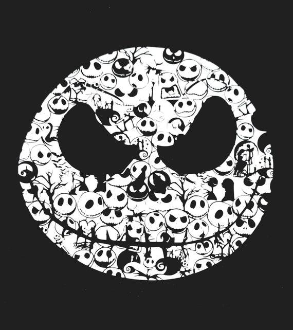 Jack SkellingtonChristmasHalloween Vinyl Decal