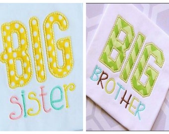 Big/Little Sister/Brother Shirts