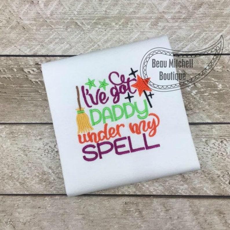 I/'ve got MommyDaddy under my Spell            OnesieShirt