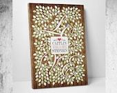 Rustic Wedding Guest Book // Rustic Guest Book // Rustic Wedding Decor // Rustic Guest Book Wedding // Fits 55-300 Guests // Vine Tree