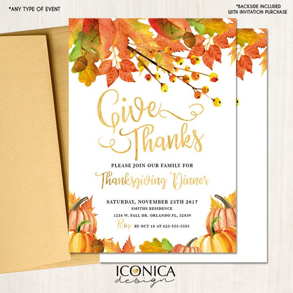 thanksgiving invitations fall party invitations fall leaf