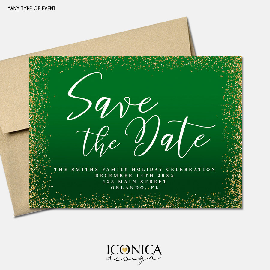Christmas Cards Save the Date,Holiday Save the date cards,Annual ...