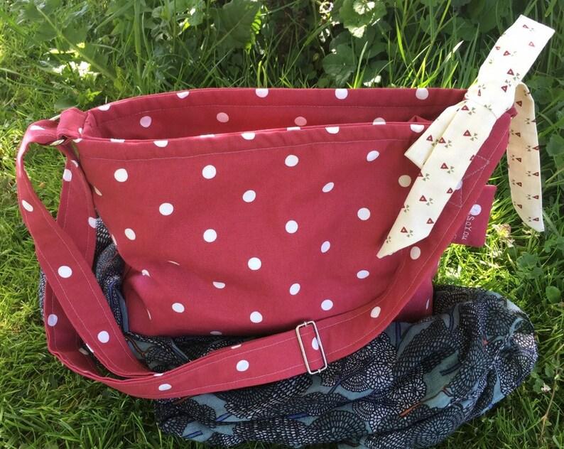 Polka dot shoulder bag/Thats So You/ UK delivery free image 1