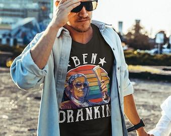DIY Ben Drankin 4th of July Vintage Merica Patriotic Independence Day Custom Fashion Baseball Hatblack