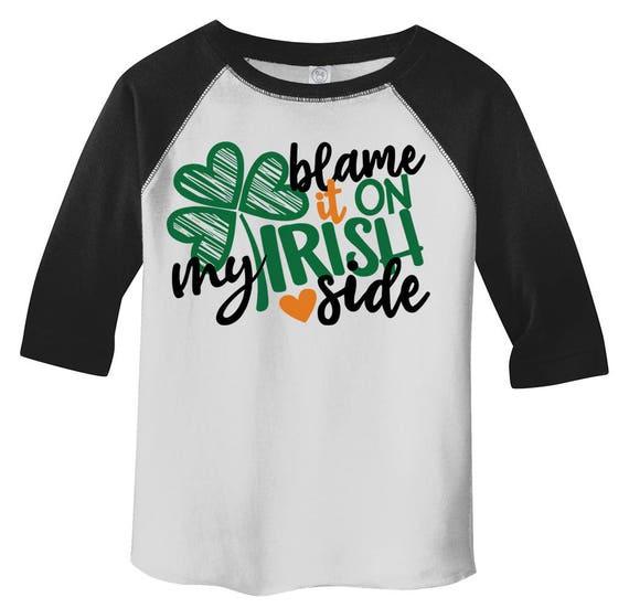 Patrick/'s Day Infant Kids T-Shirt Gift Idea Wee Little Hooligan Irish Funny St